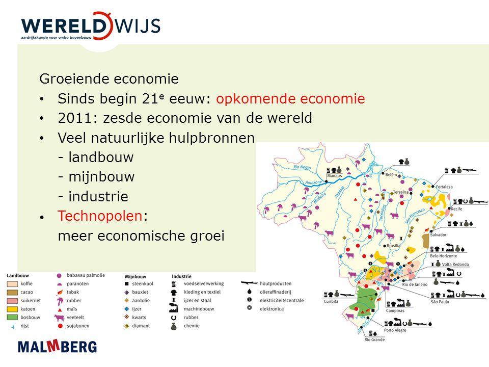 Sinds begin 21e eeuw: opkomende economie
