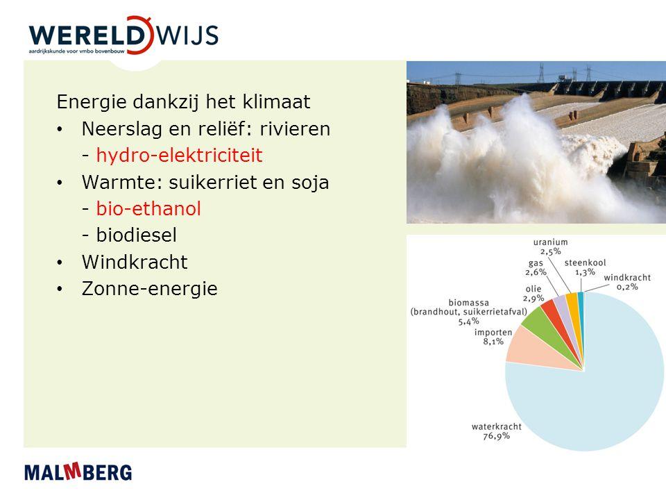 Energie dankzij het klimaat