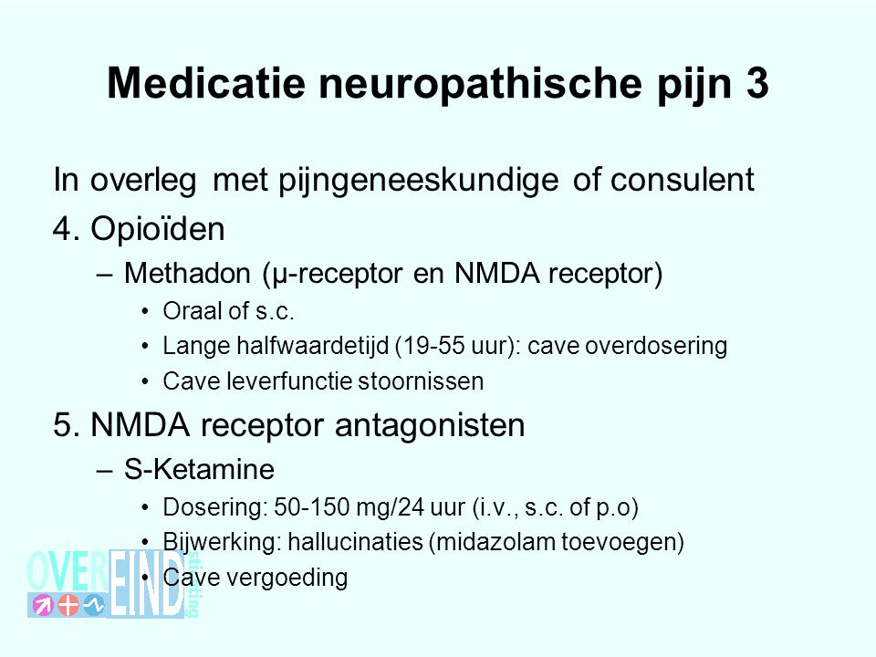 Medicatie neuropathische pijn 3