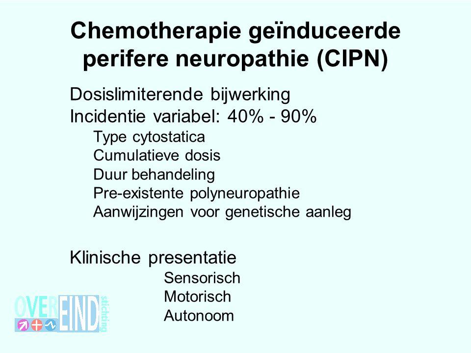 Chemotherapie geïnduceerde perifere neuropathie (CIPN)