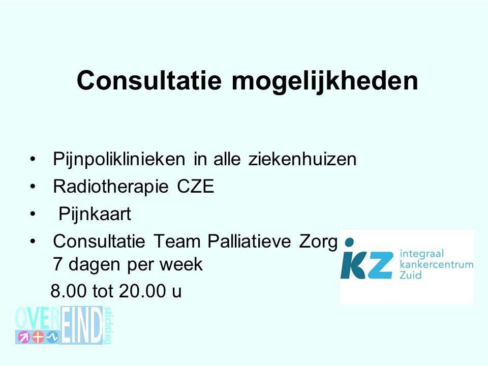Consultatie mogelijkheden