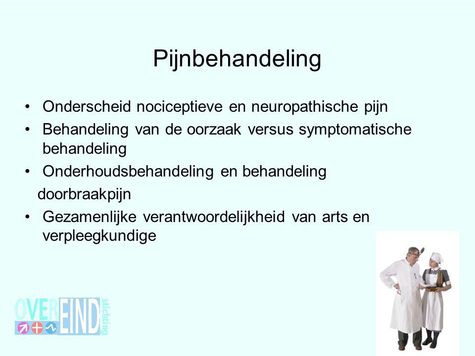 Pijnbehandeling Onderscheid nociceptieve en neuropathische pijn