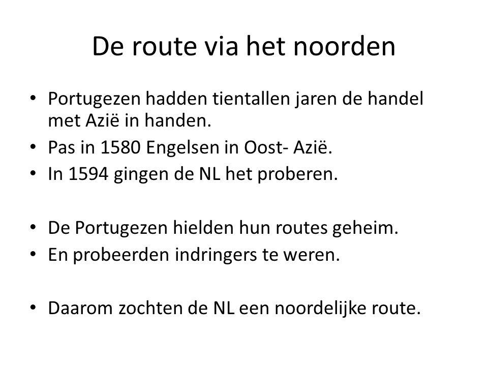 De route via het noorden