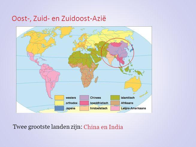Oost-, Zuid- en Zuidoost-Azië
