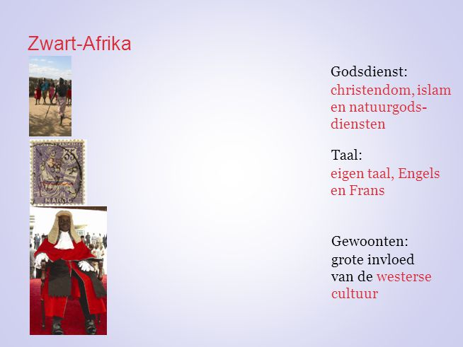 Zwart-Afrika Godsdienst: christendom, islam en natuurgods-diensten