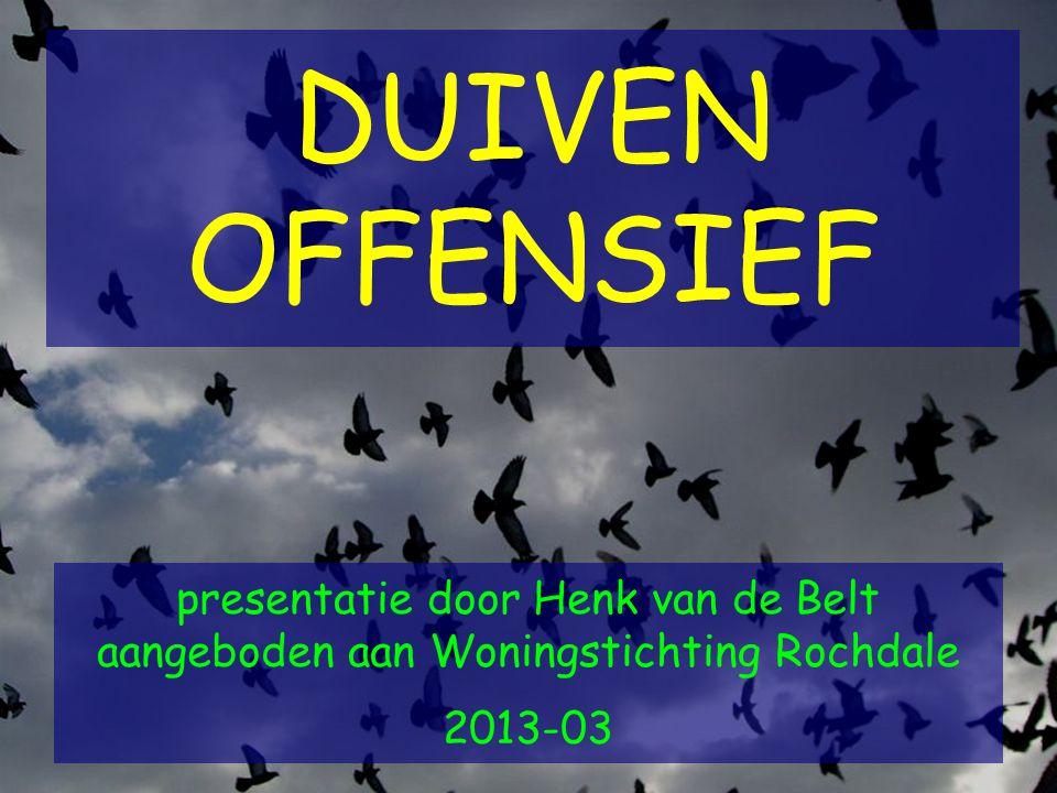 DUIVEN OFFENSIEF presentatie door Henk van de Belt aangeboden aan Woningstichting Rochdale 2013-03.