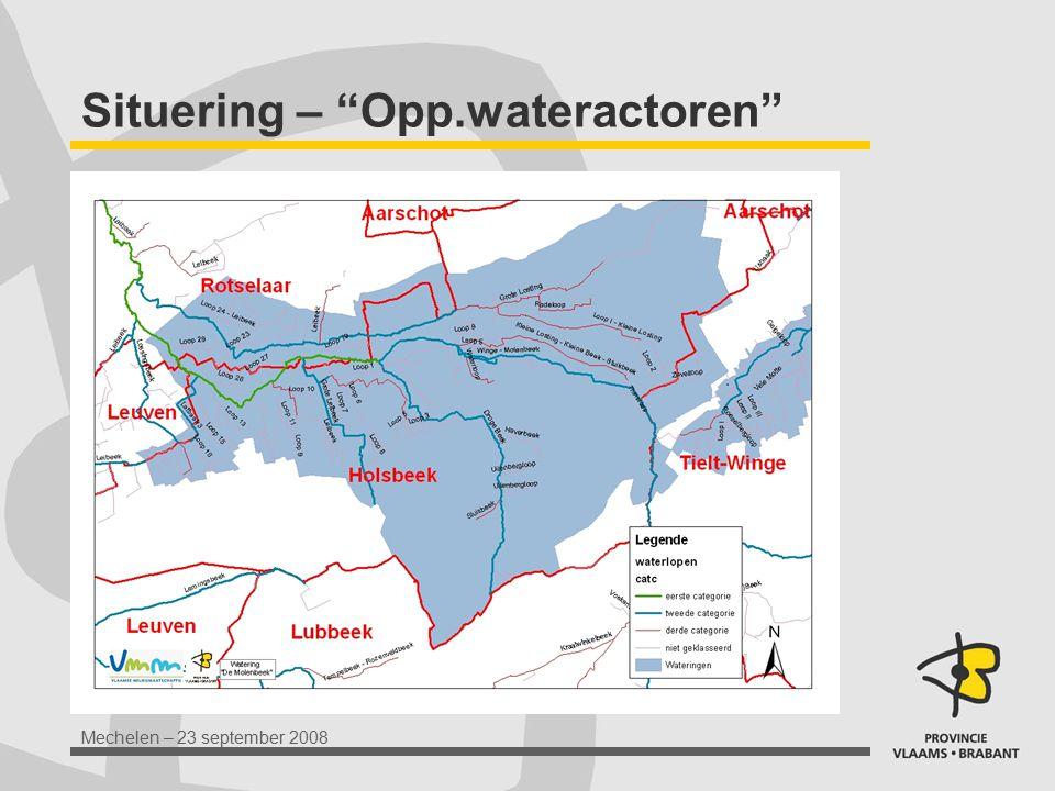 Situering – Opp.wateractoren
