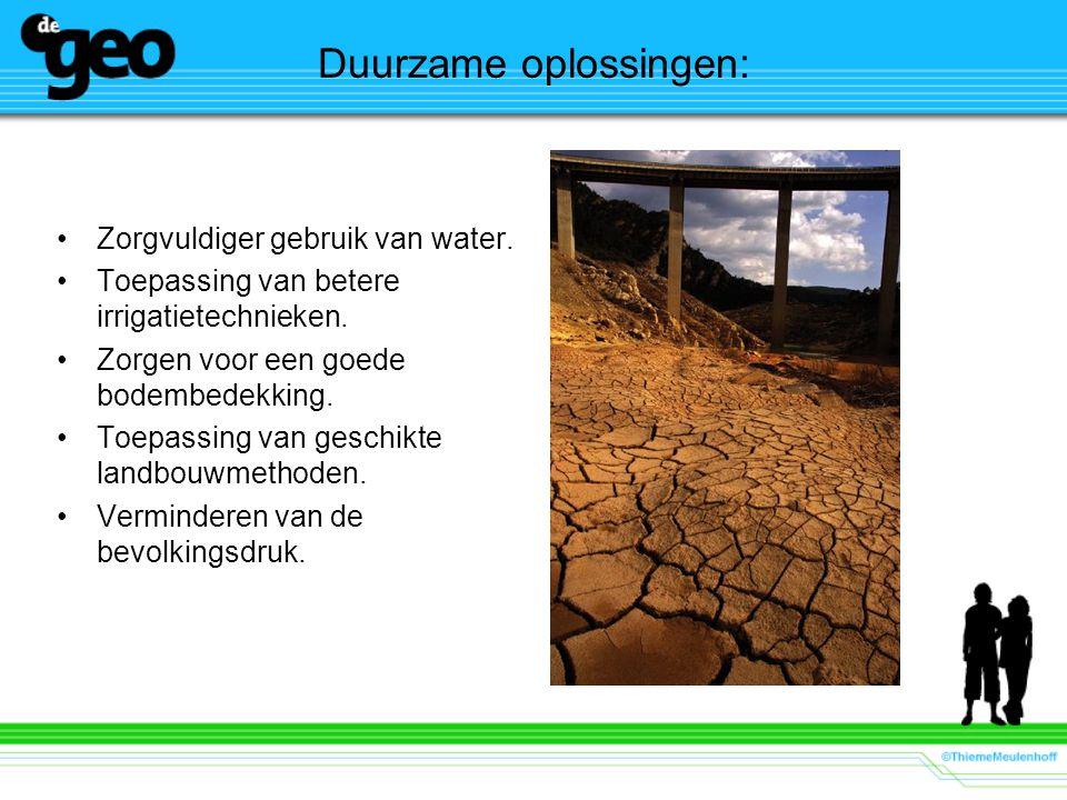 Duurzame oplossingen: