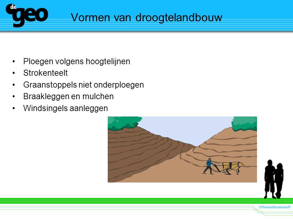Vormen van droogtelandbouw