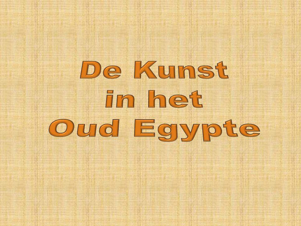 De Kunst in het Oud Egypte