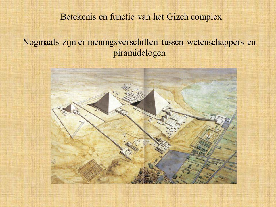 Betekenis en functie van het Gizeh complex