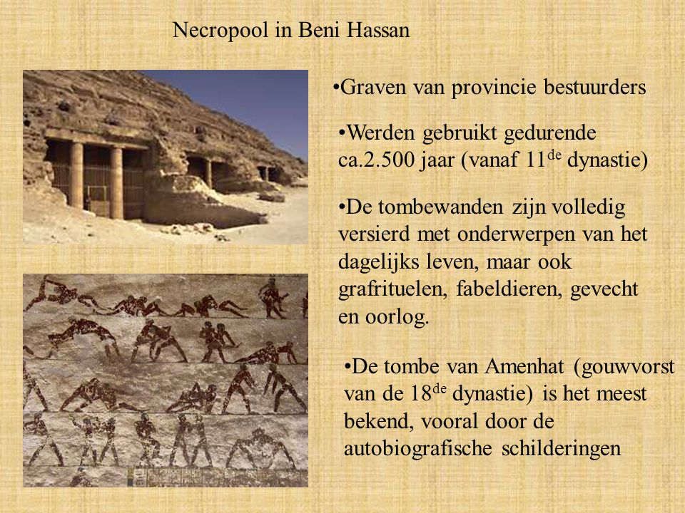 Necropool in Beni Hassan
