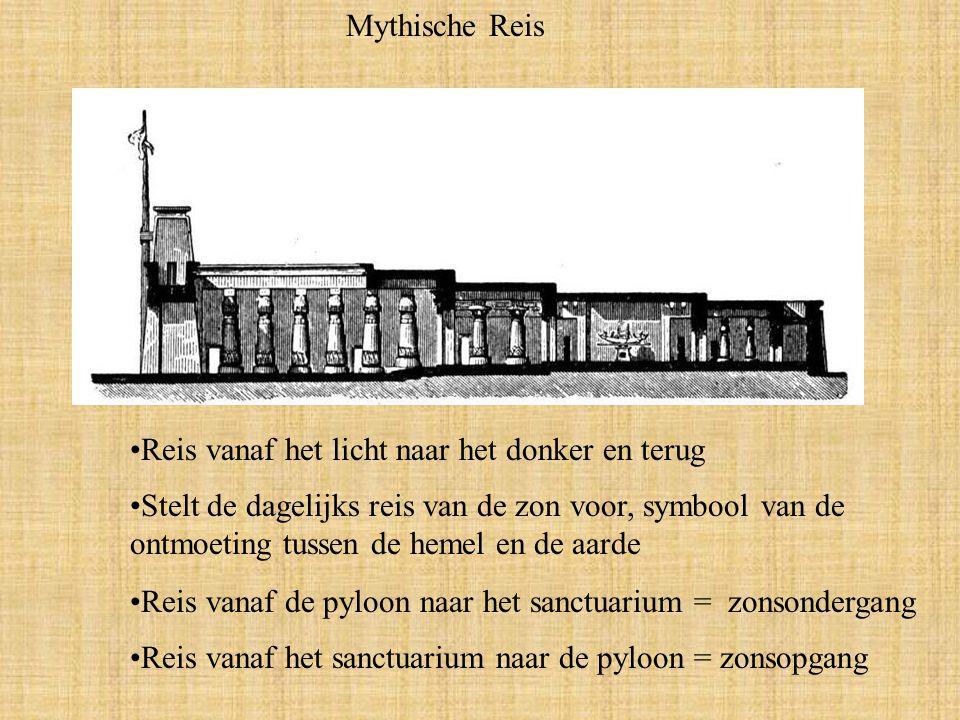 Mythische Reis Reis vanaf het licht naar het donker en terug.