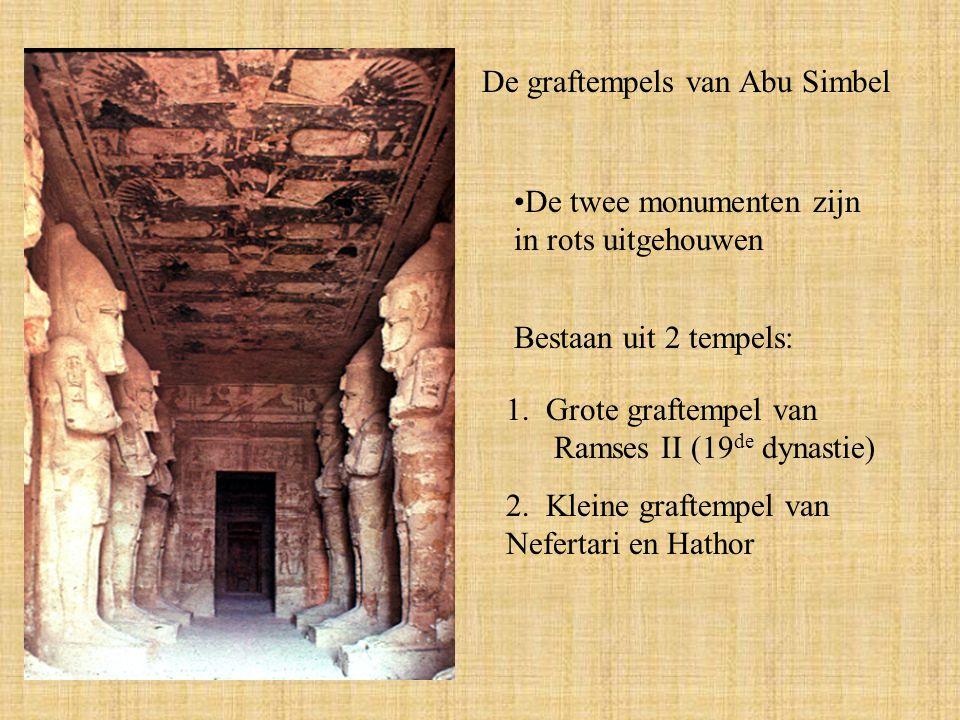 De graftempels van Abu Simbel