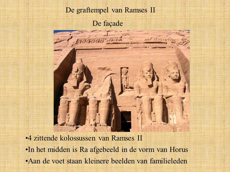 De graftempel van Ramses II