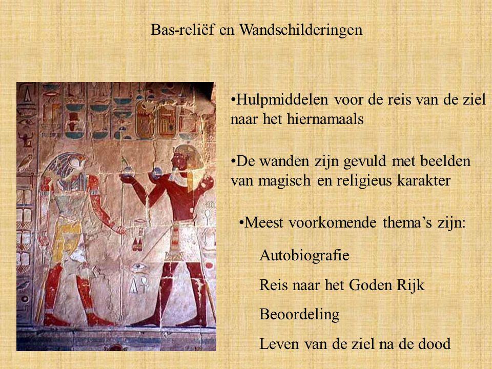 Bas-reliëf en Wandschilderingen