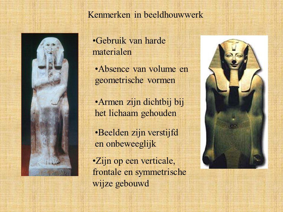 Kenmerken in beeldhouwwerk