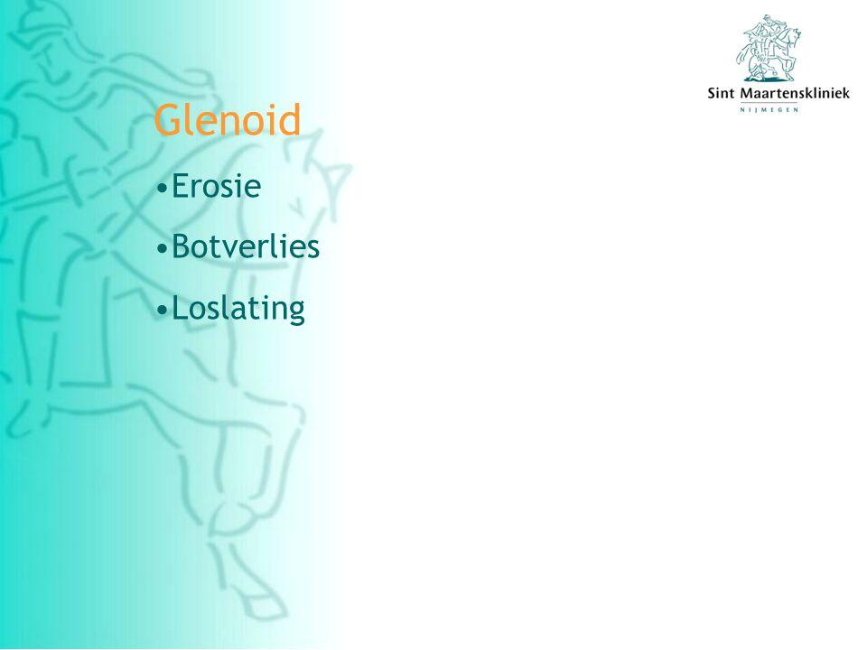 Glenoid Erosie Botverlies Loslating
