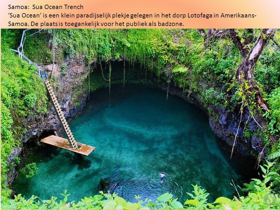 Samoa: Sua Ocean Trench