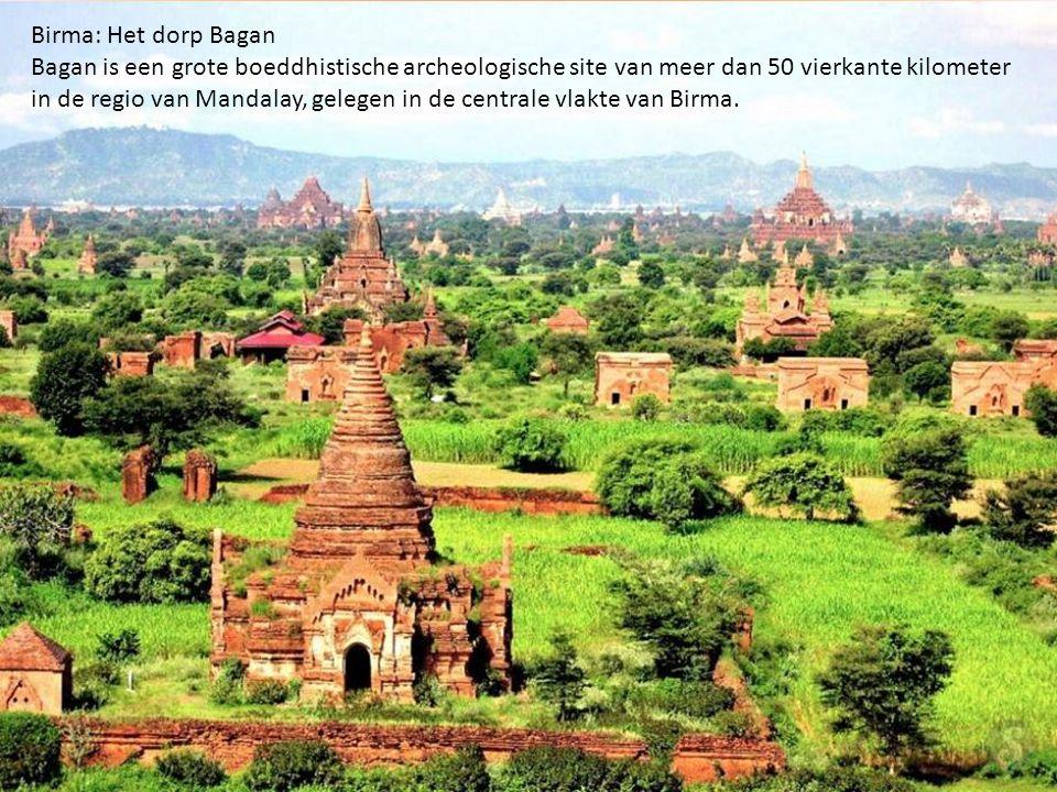 Birma: Het dorp Bagan