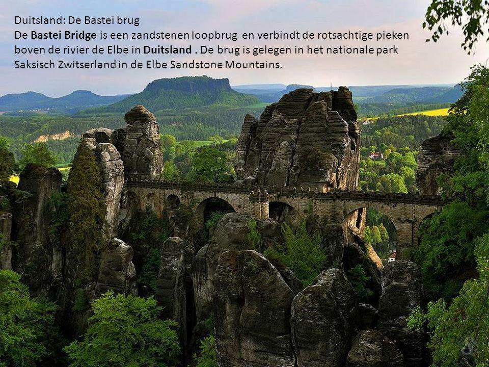 Duitsland: De Bastei brug