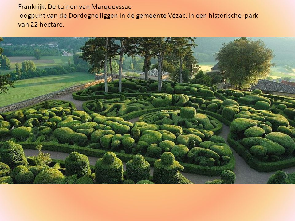 Frankrijk: De tuinen van Marqueyssac