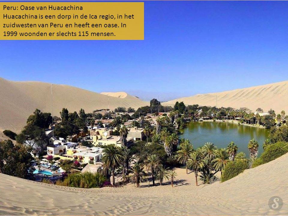 Peru: Oase van Huacachina