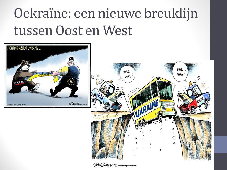 Oekraïne: een nieuwe breuklijn tussen Oost en West