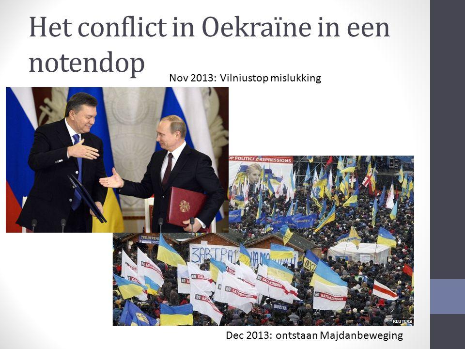 Het conflict in Oekraïne in een notendop