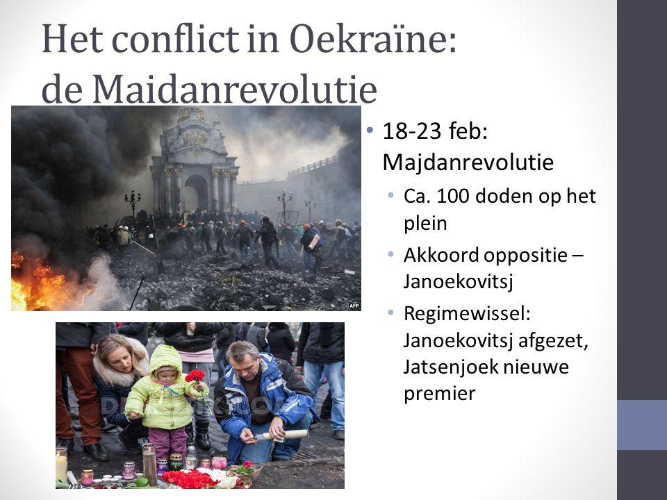 Het conflict in Oekraïne: de Maidanrevolutie