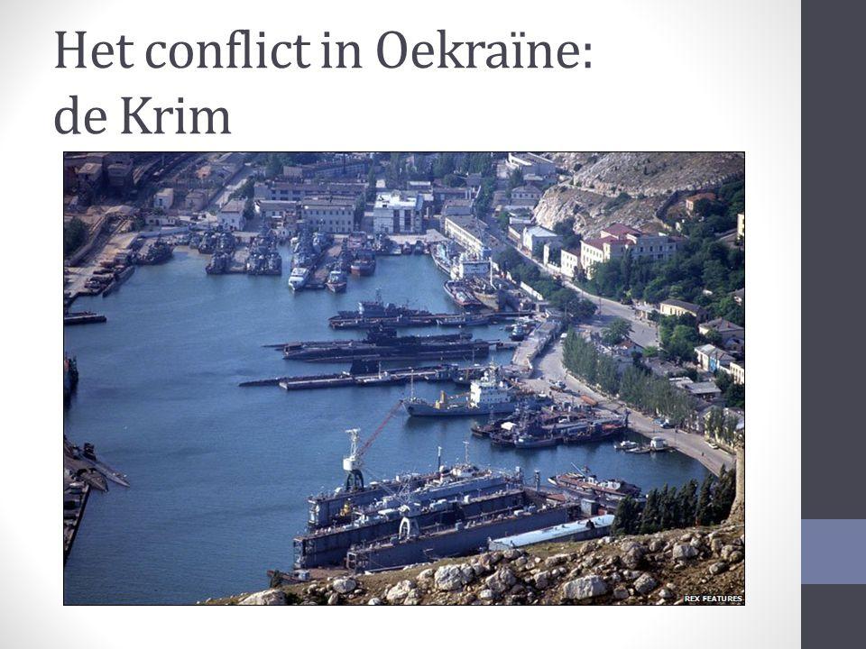 Het conflict in Oekraïne: de Krim