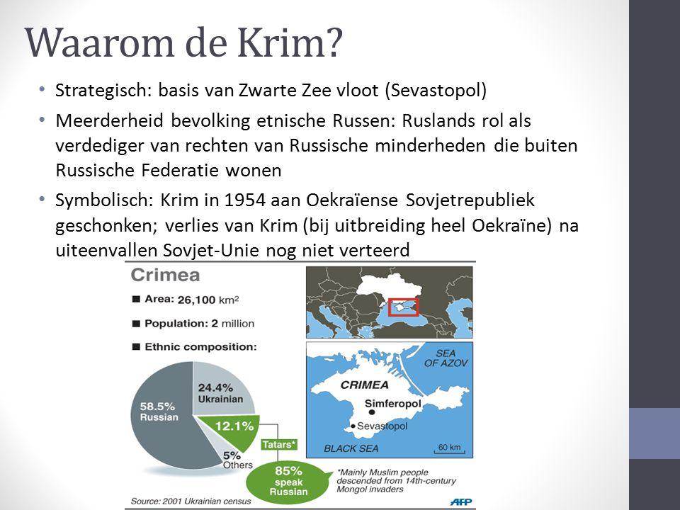 Waarom de Krim Strategisch: basis van Zwarte Zee vloot (Sevastopol)