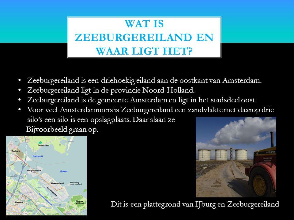 Wat is Zeeburgereiland en waar ligt het