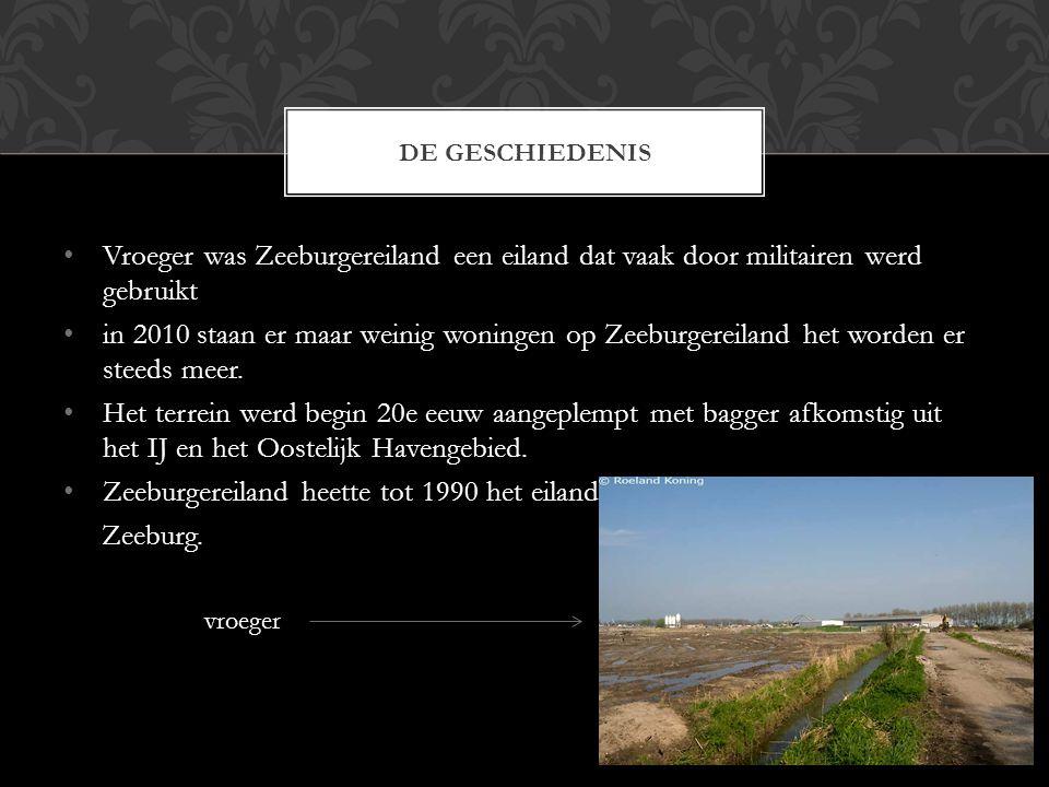 Zeeburgereiland heette tot 1990 het eiland Zeeburg.