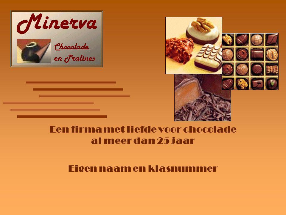 Een firma met liefde voor chocolade al meer dan 25 jaar