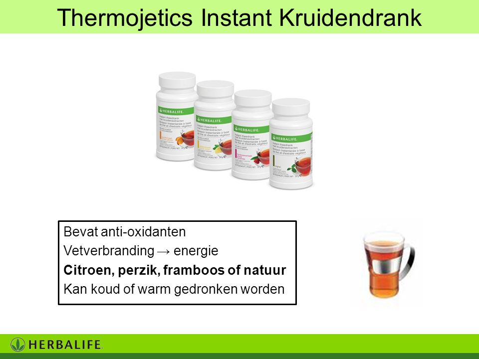 Thermojetics Instant Kruidendrank