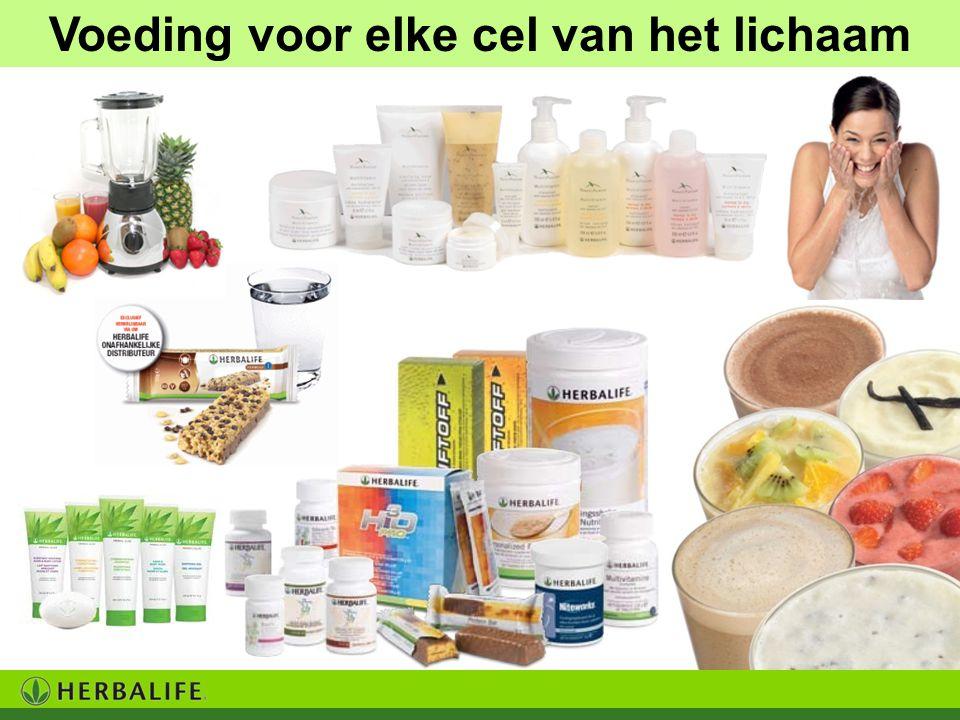 Voeding voor elke cel van het lichaam