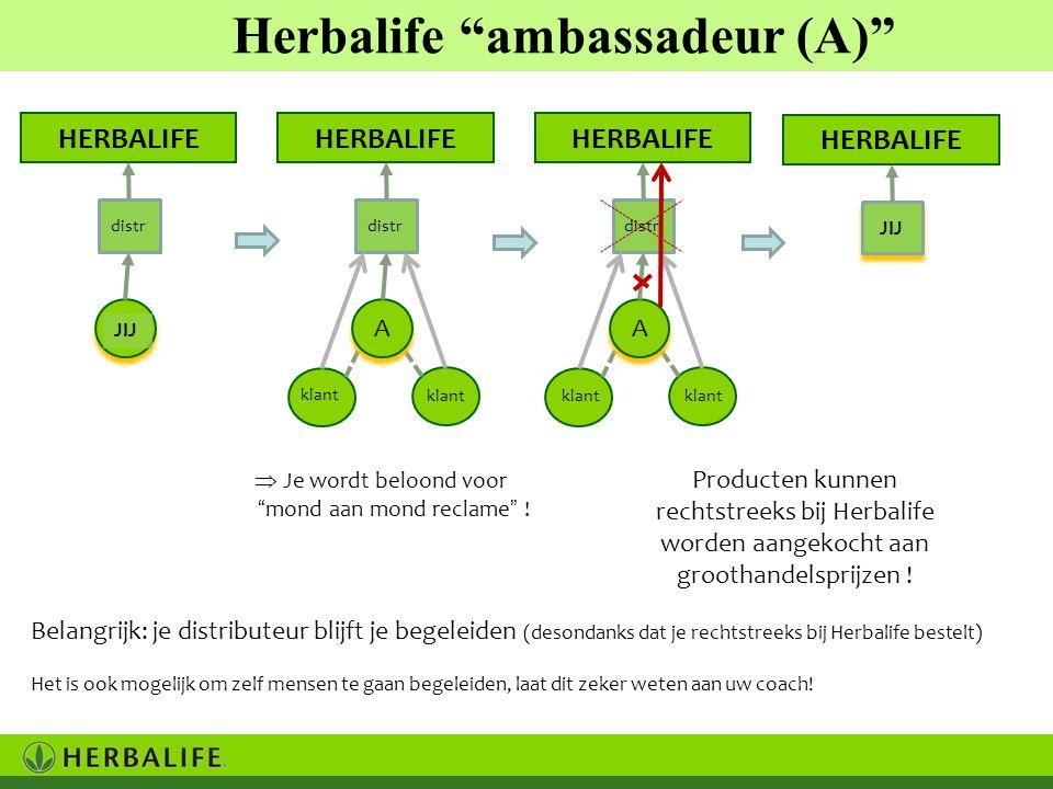 Herbalife ambassadeur (A)