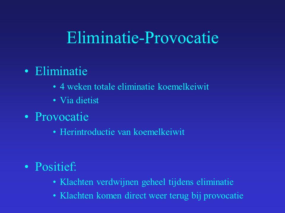 Eliminatie-Provocatie