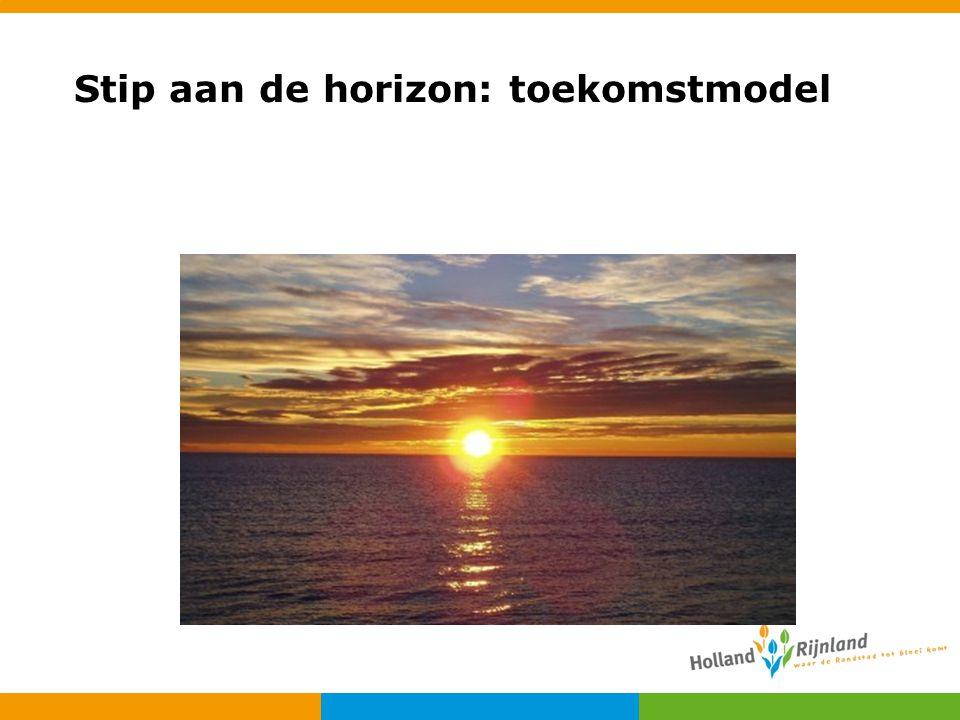 Stip aan de horizon: toekomstmodel