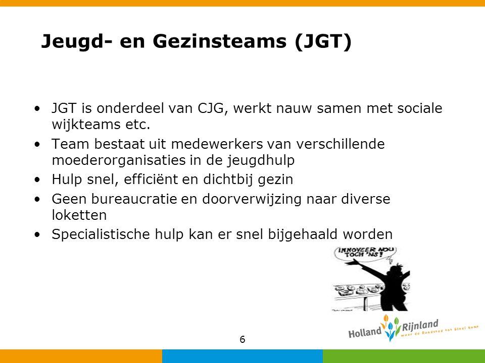 Jeugd- en Gezinsteams (JGT)