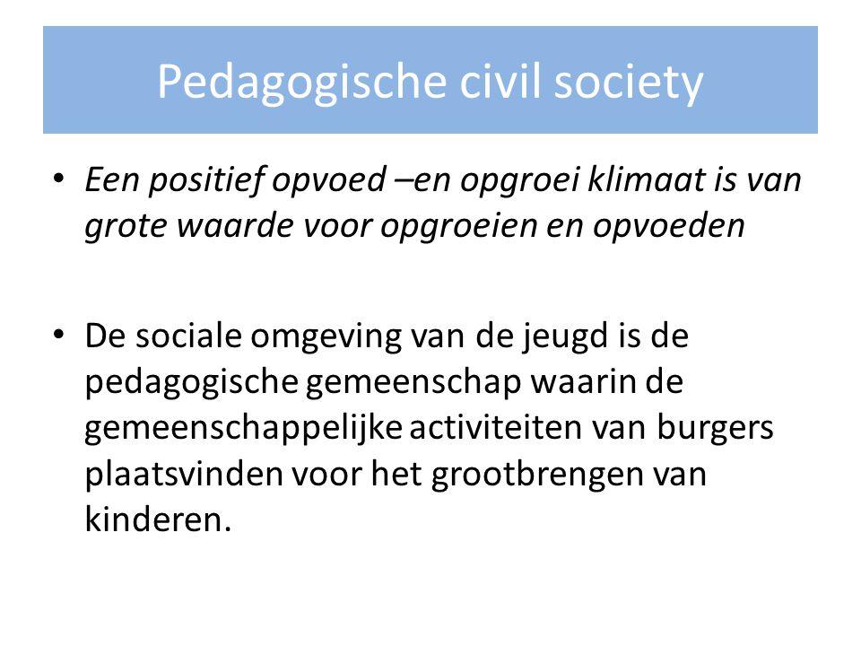 Pedagogische civil society
