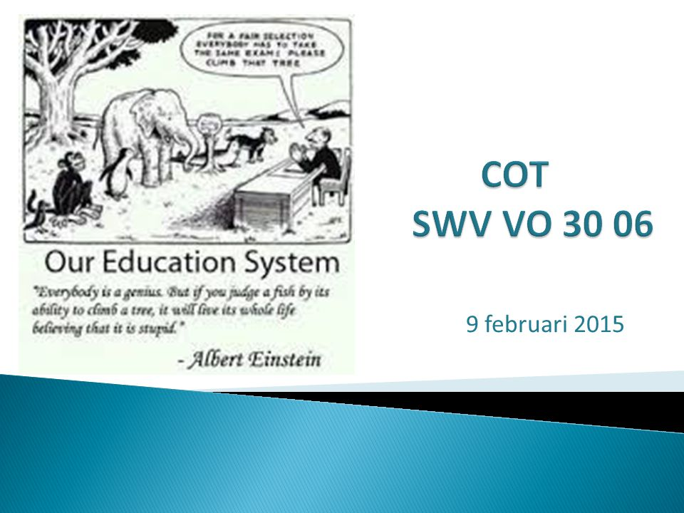 COT SWV VO 30 06 9 februari 2015
