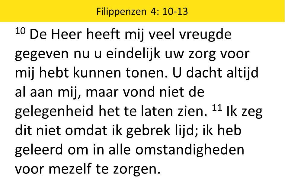 Filippenzen 4: 10-13