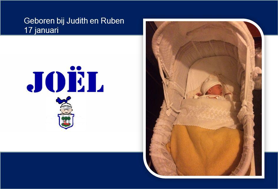 Geboren bij Judith en Ruben