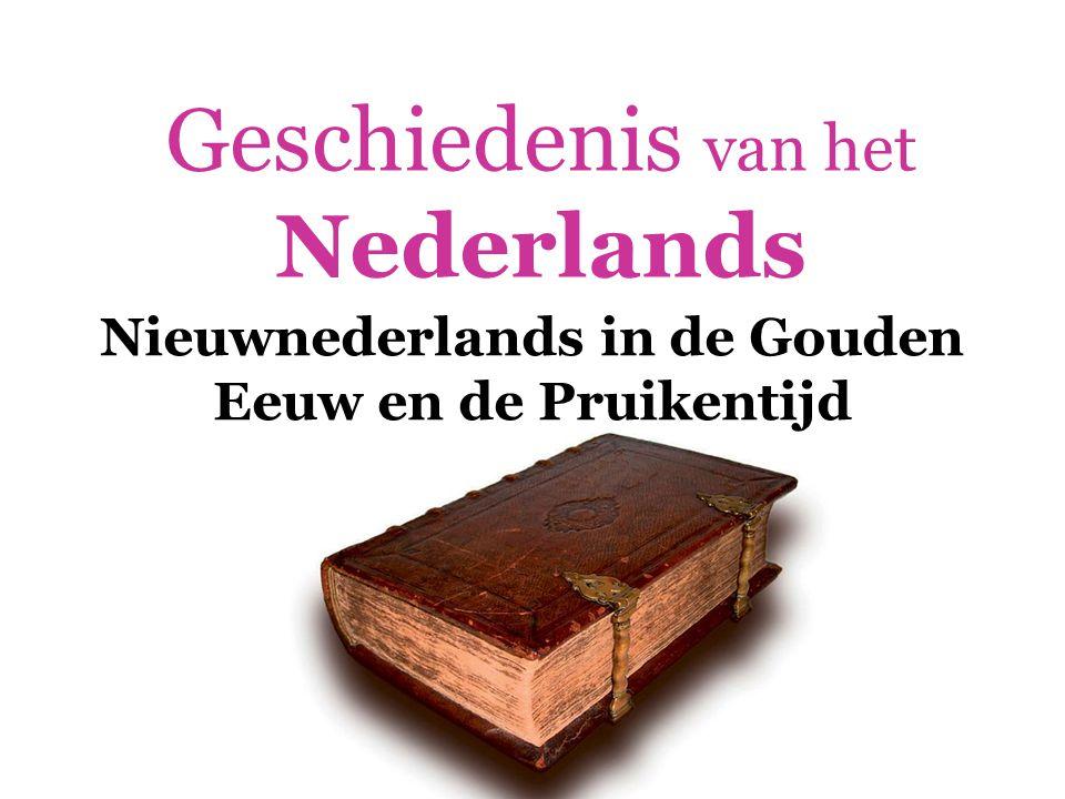 Geschiedenis van het Nederlands