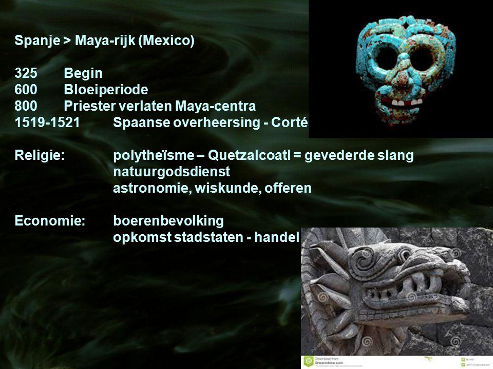 Spanje > Maya-rijk (Mexico)