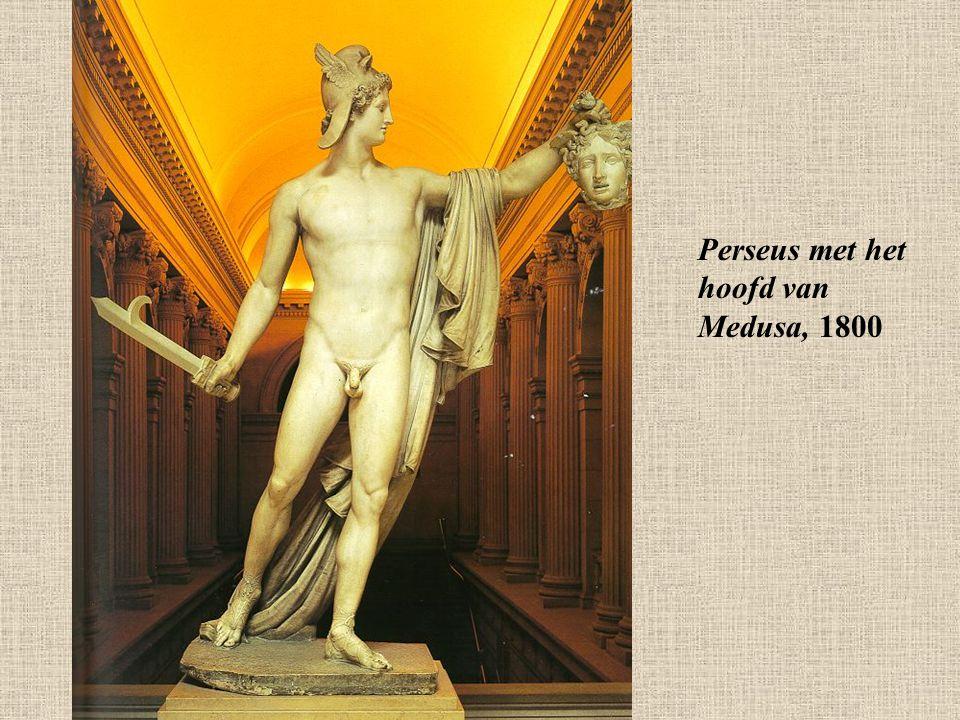 Perseus met het hoofd van Medusa, 1800