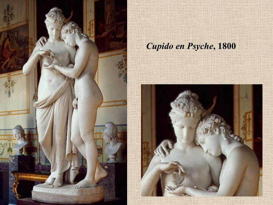 Cupido en Psyche, 1800