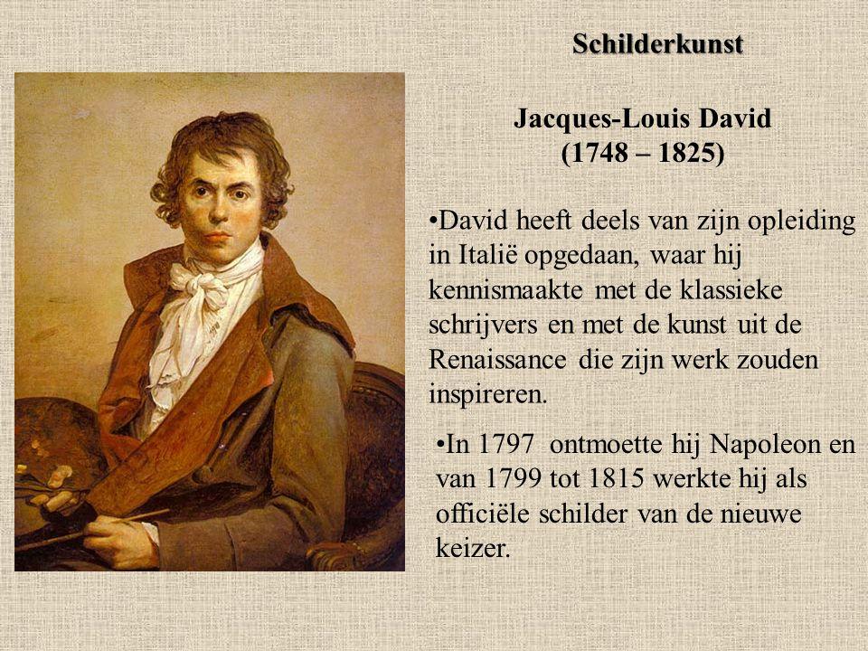 Jacques-Louis David (1748 – 1825)